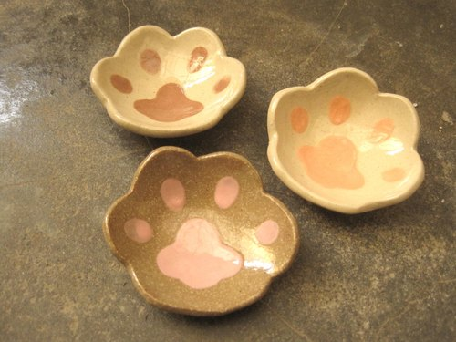 DoDo hand-made animal shapes life Tao -give me a hand. * 1 cat meatballs Singles