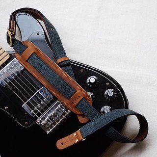 Denim - Vintage Guitar strap