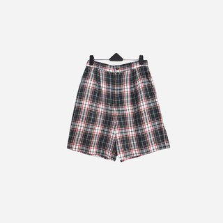 Dislocated Vintage / Lined Plaid Shorts No.642 vintage