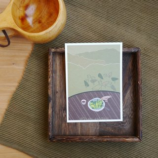 Mountain tea fun postcards / Chuen Lung [#ChuenLungVillage]