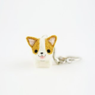 Walk the dog Key ring – Corgi