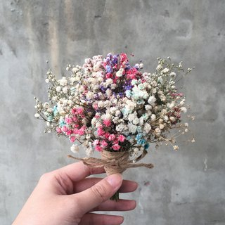 Four color starry dry small bouquet