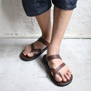 OMAKE Cross-finger slippers