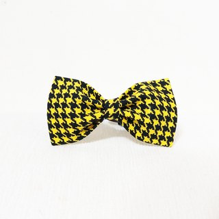 Ella Wang Design Bowtie Pet Bow Tie Bow Cat Dog Houndstooth