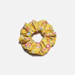 Small yellow flowers Hair Elastics Women Hair Accessories