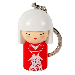 Key ring - Yasuna calm [Kimmidoll and blessing doll key ring]