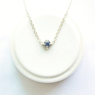 "∥Cheng Jewelry∥ Bochim Angel - ""blue crystals"" Cordierite silver necklace"