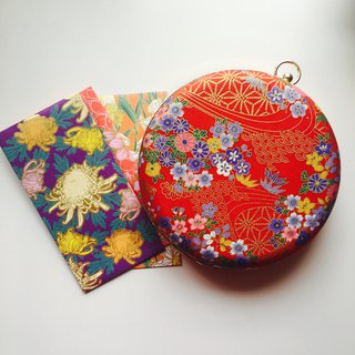 Japanese bronzing red packets - can be used hand / Xiebei dual use