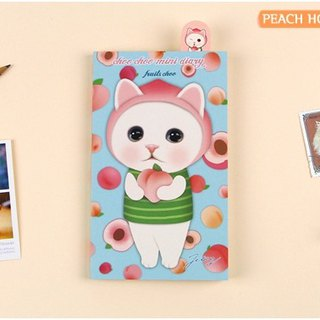 Jetoy, sweet cat fruit DIY calendar plan _ Peach choo J1712103