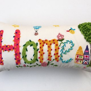 Pillow - cushions - Home home decoration finished series fresh and lovely cotton hand embroidery