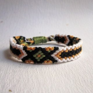 Track lucky rope woven bracelet (optional color)