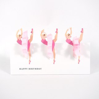 Here is a ballet dance for you [Hallmark-Birthday Birthday Blessing]