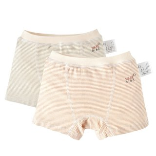 [SISSO Organic Cotton] Boy's Soft Stripe Panties (Secondary) L XL