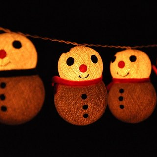 20 LED Battery Powered Christmas Cotton Ball String Lights for Home Decoration, Wedding, Party, Bedroom, Patio and Decoration