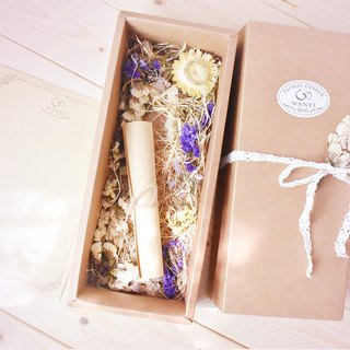 WANYI cowhide packaging gift box plus purchase / gift / lace / bouquet / gift / box / carton