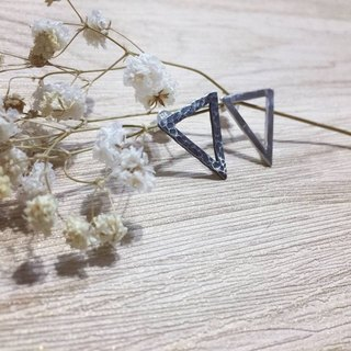 Gin à In Silver. / Sharp - Earrings / Handmade - 925 silver