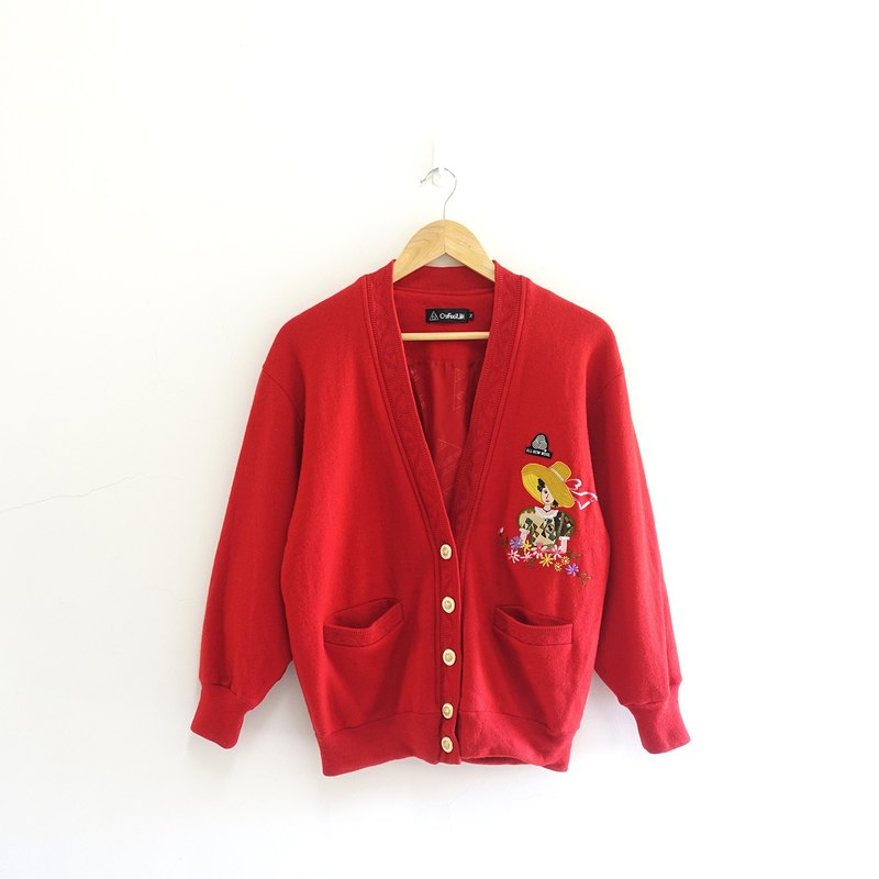 │Slowly │ people spend more than flowers - vintage jacket │ vintage. Vintage