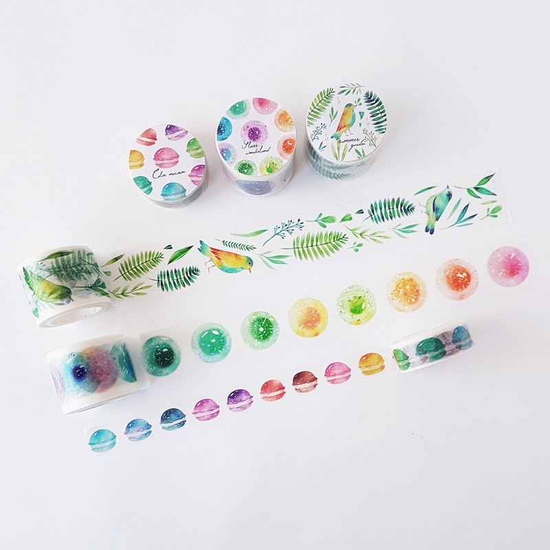 Goody Bag - Summer New Products All Inclusive Paper Tape Sticker Partition