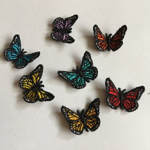 Small Butterfly Embroidery