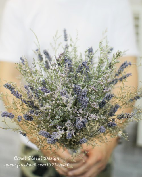Exclusive orders - KUNG bouquet of lavender to increase funds