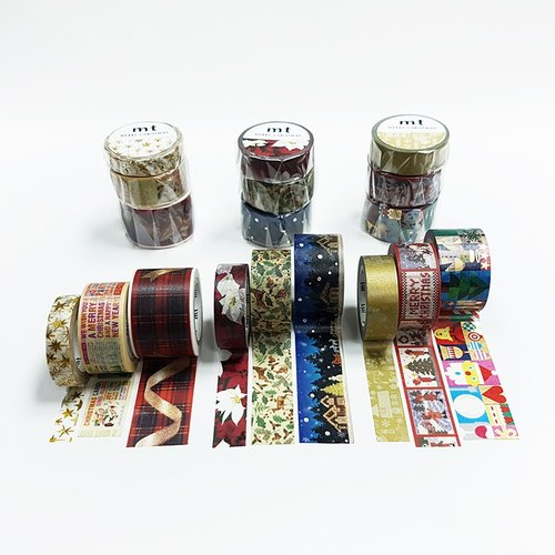 mt Masking Tape.Christmas 2017【9-Roll Set】