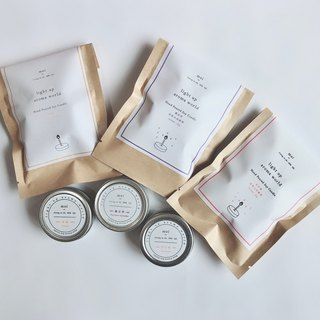 Goody Bag - Natural Soy Candle Three-Piece Set