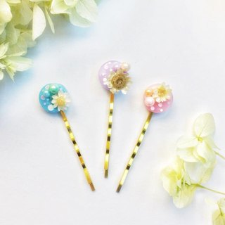 Mini Chrysanthemum hairpin