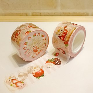 2.5cm and paper tape - Strawberry Rabbit 2nd Generation / Dessert