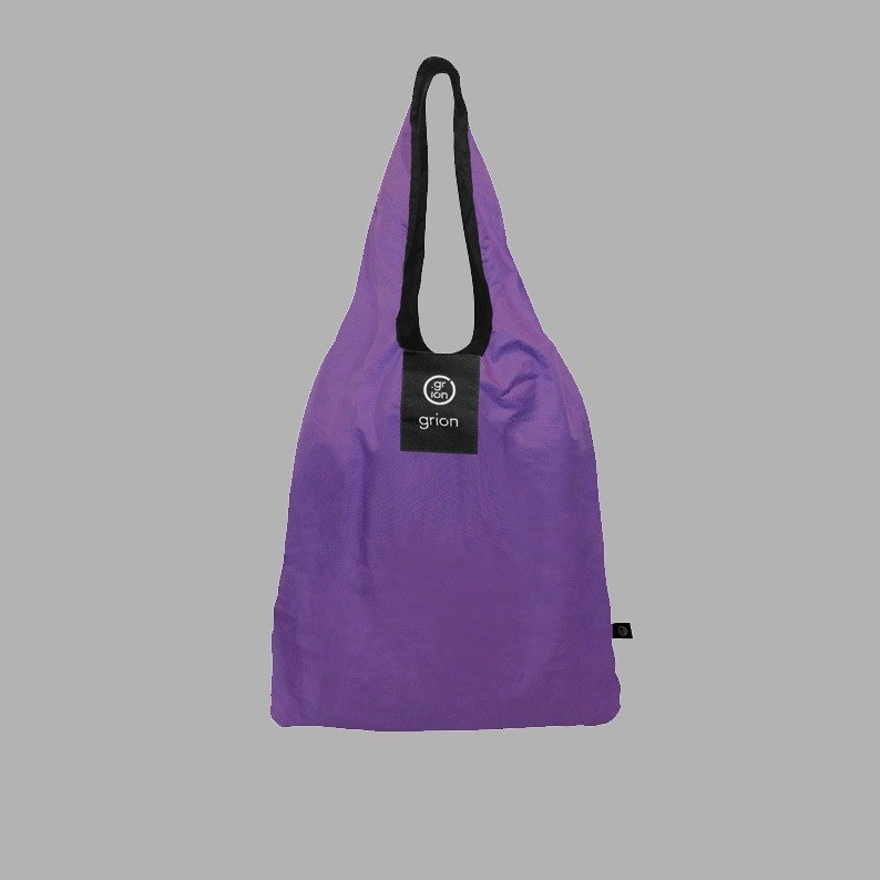 grion waterproof bag - Shoulder dorsal paragraph (L) purple