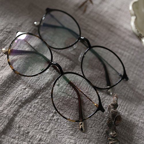 SYAO / Antique nostalgic ultralight retro glasses
