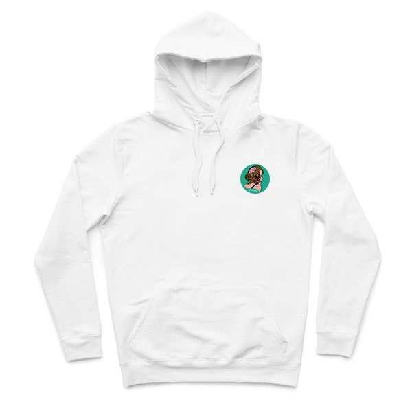 Small paisiaaaaa - White - Hooded T-shirt
