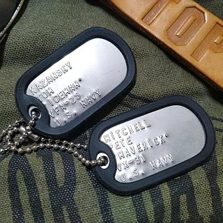 US army dog ​​tag - US military dog ​​tag