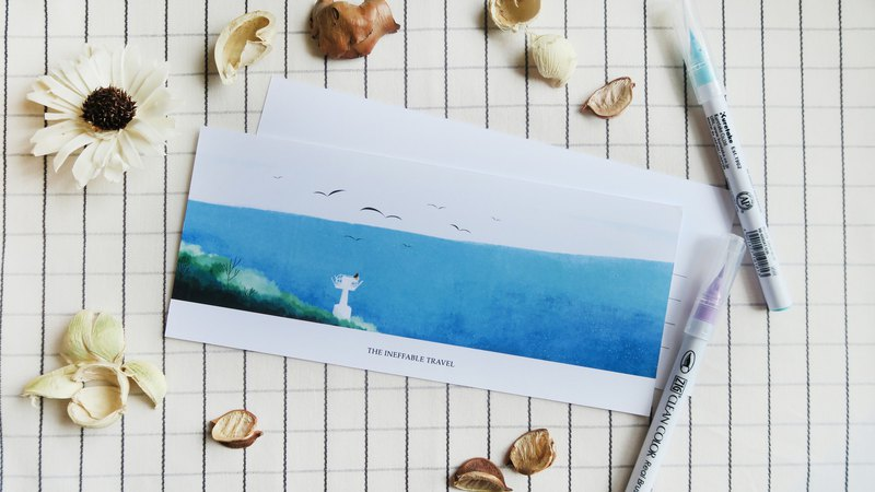 The Ineffable Travel - Lighthouse Greeting Card