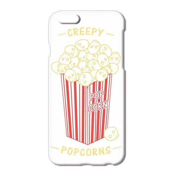 [iPhoneケース] Creepy Popcorns
