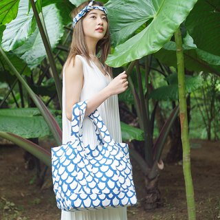 Summer Tote - Wave Blue