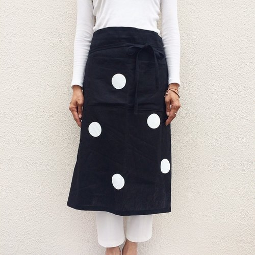 UOGASHI/apron/kitchen/dot/japanese/wine/cafe/linen