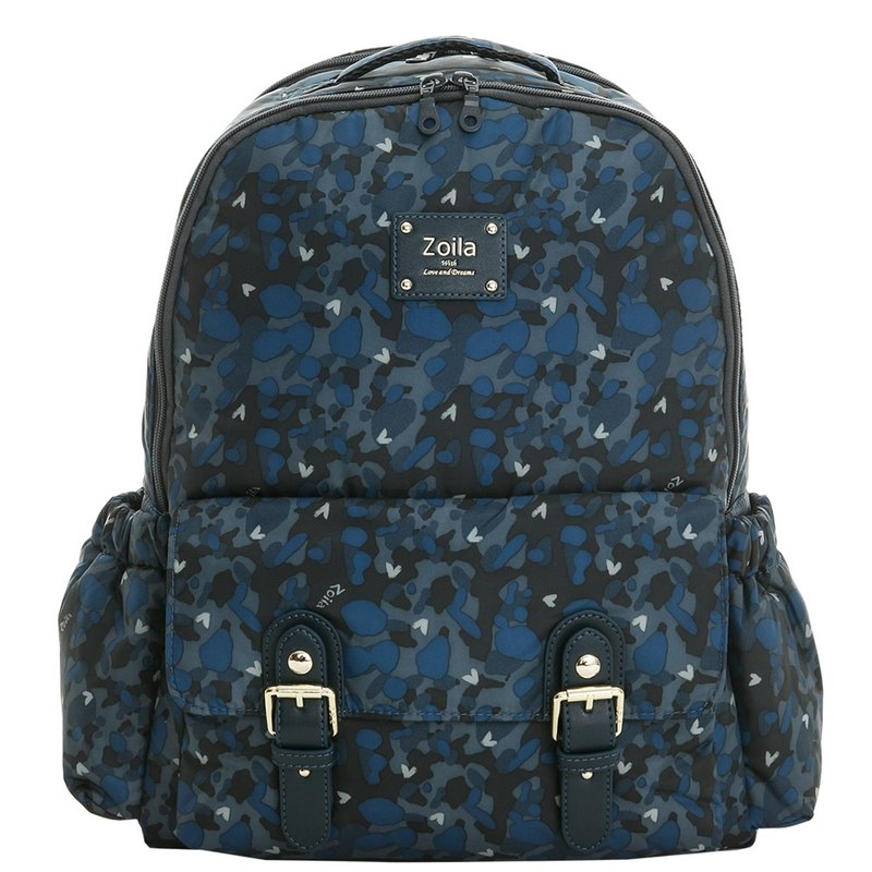 Large capacity backpack _ Star Camouflage Go Go Bag Walking bag _ parenting bag
