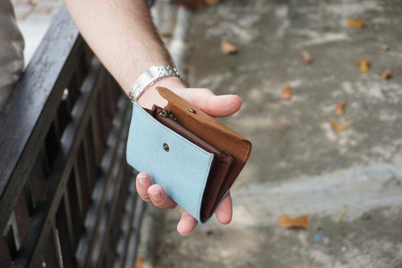 男 - 短夾 – 錢包  - 多色可選 - 禮物 - 布作