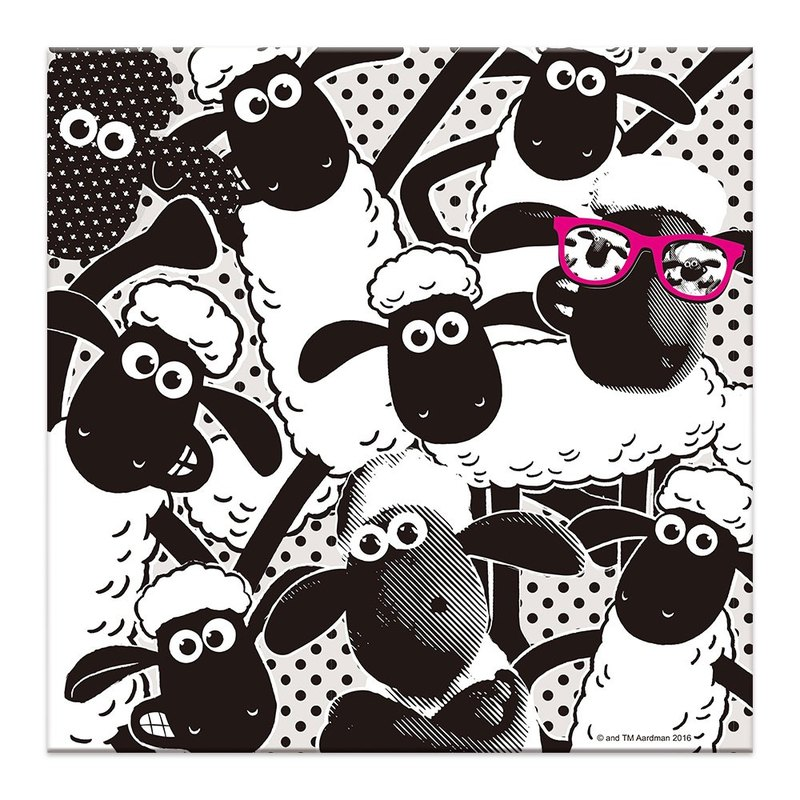 Shaun The Sheep - Frameless (80 * 80cm)