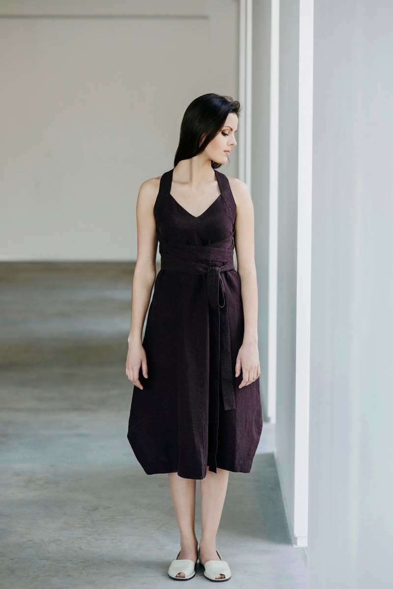 Linen Dress Motumo 15S12