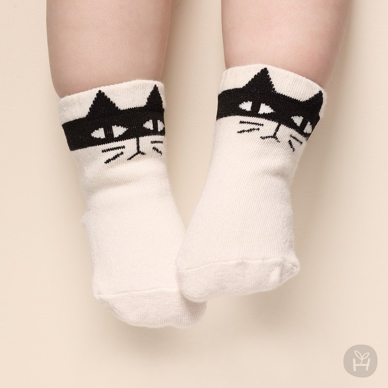 Happy Prince Masked Animal Baby Socks Korean Made