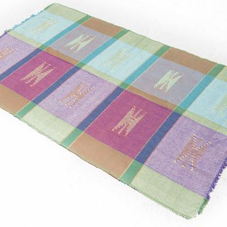 Hand-woven rug/table mat/Boho ethnic wind picnic mat/Daka woven woven carpet - Moroccan nationality