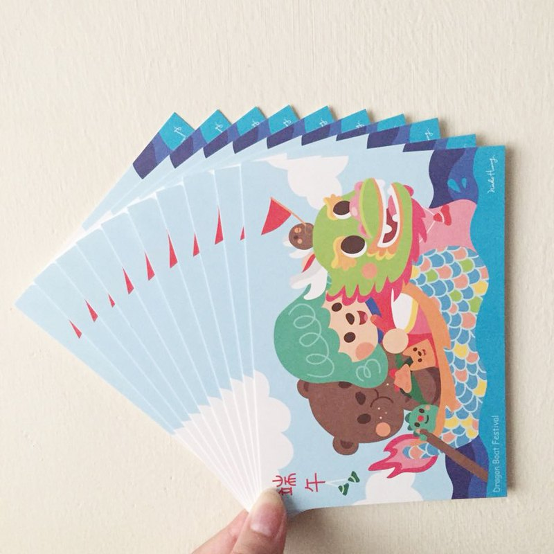 [Dragon Boat Festival] postcard (10 sets)