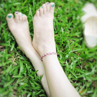 | Swaying wind | Brass x wax line x foot rope x foot chain x foot ring. customized.