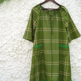 Bell Sleeve Dress Indonesian Sarong Fabric