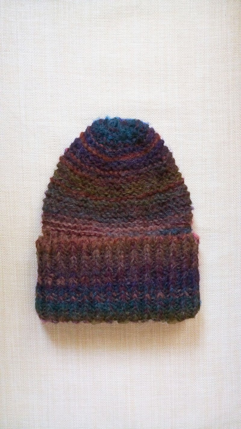 Lan wool hat (grass layer)