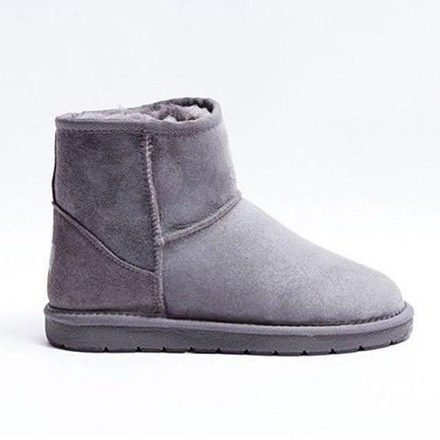 雪地靴採煤機澳大利亞經典的迷你灰色