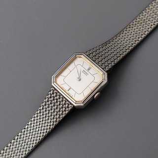 SEIKO Showa Interwoven Chain with Quartz Antique Watch