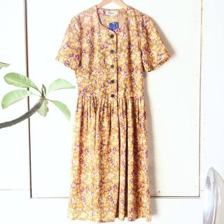 Ancient Cave Business │ VINTAGE DRESS │ Citrus Summer Festival │ Ancient Dress
