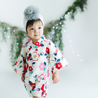 Beautiful Floral Baby Girl Onesie Romper Himari